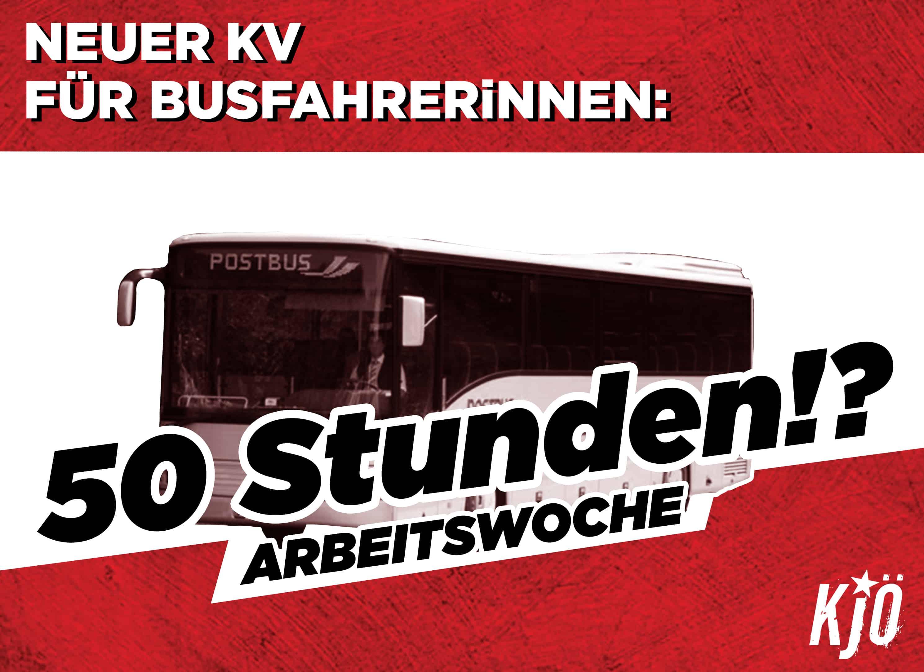 Kritik am neuen Kollektivvertrag für BusfahrerInnen wird laut